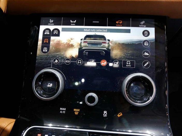 Range Rover Velar, il nuovo SUV di Land Rover - Foto 18 di 26