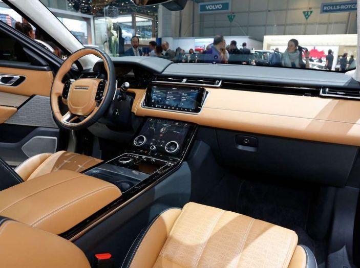 Range Rover Velar, il nuovo SUV di Land Rover - Foto 19 di 26