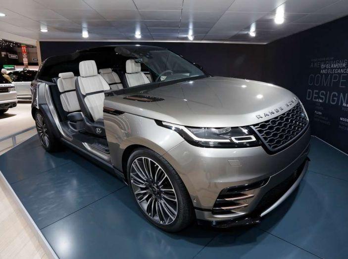 Range Rover Velar, il nuovo SUV di Land Rover - Foto 22 di 26