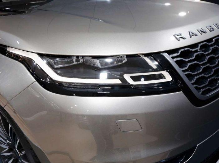 Range Rover Velar, il nuovo SUV di Land Rover - Foto 23 di 26