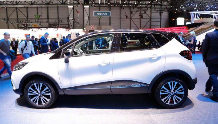 Nuova Renault Captur, il restyling debutta a Ginevra - Foto 4 di 11