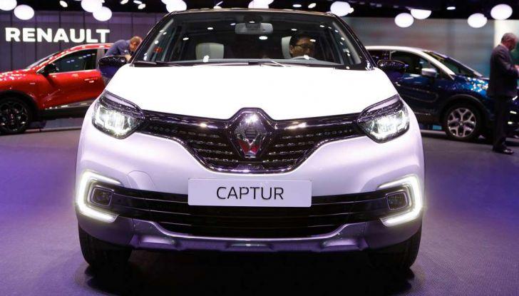 Nuova Renault Captur, il restyling debutta a Ginevra - Foto 11 di 11
