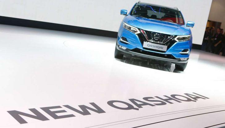 Nuova Nissan Qashqai 2017: lo stile che evolve - Foto 14 di 16