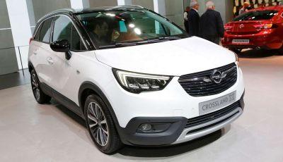 Opel Crossland X, il nuovo crossover compatto di Opel