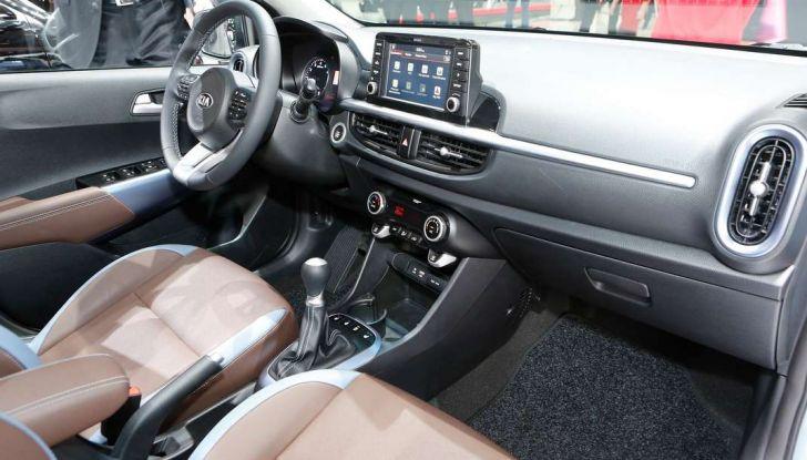 Nuova Kia Picanto, dettagli e caratteristiche tecniche della terza generazione - Foto 21 di 24
