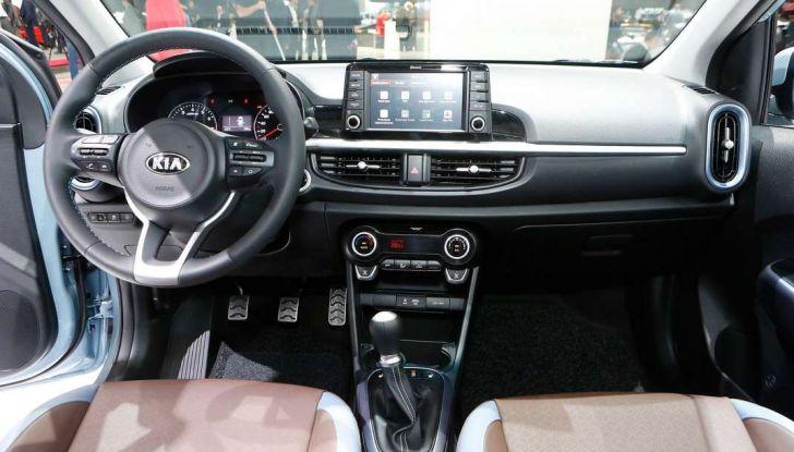 Nuova Kia Picanto, dettagli e caratteristiche tecniche della terza generazione - Foto 22 di 24