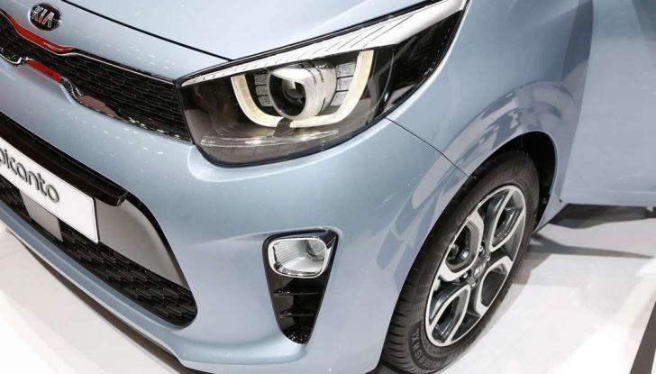 Nuova Kia Picanto, dettagli e caratteristiche tecniche della terza generazione - Foto 13 di 24
