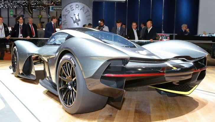 Aston Martin Valkyrie - Foto 8 di 12