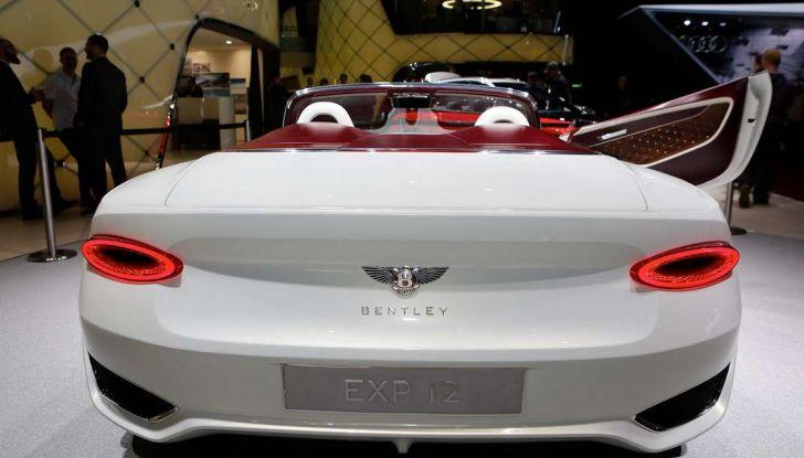 Bentley EXP 12 Speed 6e Concept - Foto 12 di 18