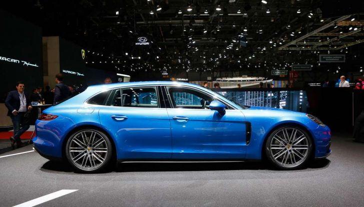 Porsche Panamera Sport Turismo, velocità d'elite - Foto 5 di 9