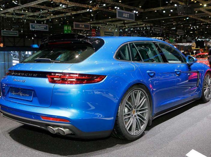 Porsche Panamera Sport Turismo, velocità d'elite - Foto 6 di 9