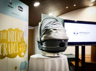 The Dream Cradle, la navicella per bimbi concepita da Chicco e Renault Italia