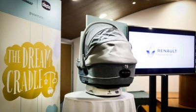 The Dream Cradle, la navicella per bimbi concepita da Chicco e Renault Italia