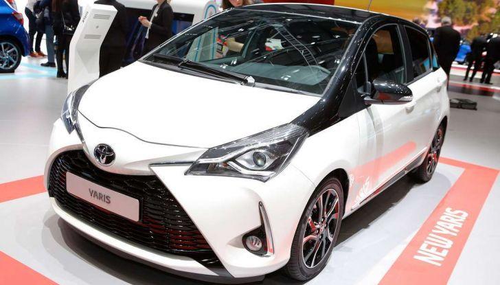 Toyota Yaris restyling 2017 - Foto 4 di 28