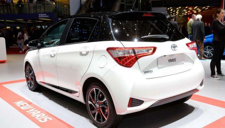 Toyota Yaris restyling 2017 - Foto 3 di 28
