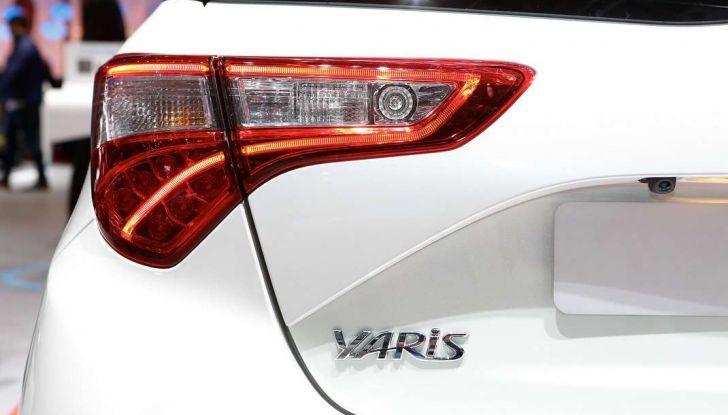 Toyota Yaris restyling 2017 - Foto 17 di 28