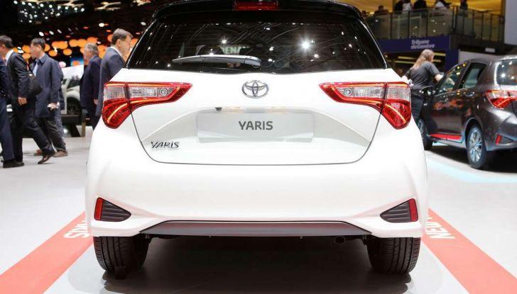Toyota Yaris restyling 2017 - Foto 18 di 28