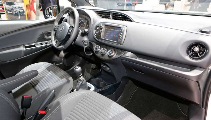 Toyota Yaris restyling 2017 - Foto 19 di 28