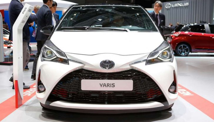 Toyota Yaris restyling 2017 - Foto 11 di 28