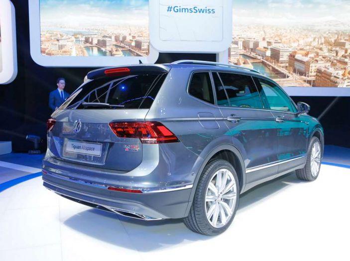 Volkswagen Tiguan Allspace: 4Motion, sette posti e DSG - Foto 9 di 13