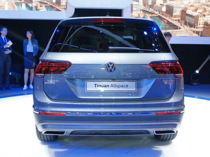 Volkswagen Tiguan Allspace: 4Motion, sette posti e DSG - Foto 5 di 13