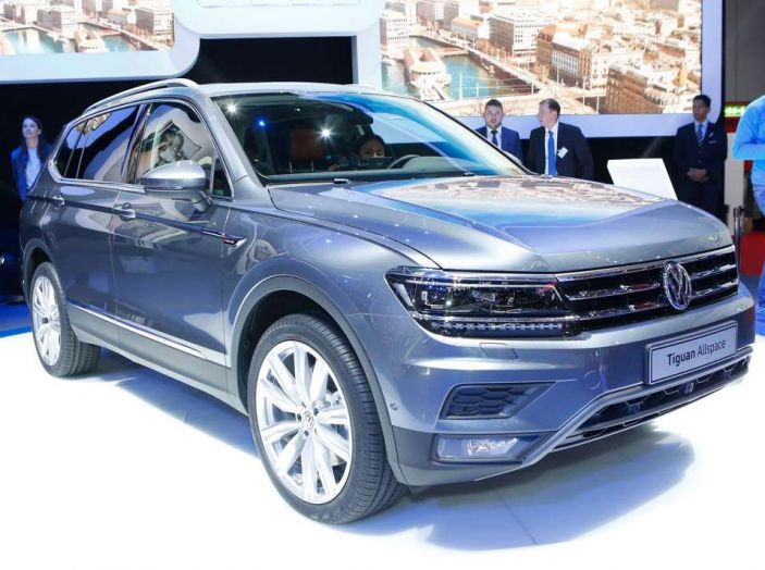 Volkswagen Tiguan Allspace: 4Motion, sette posti e DSG - Foto 1 di 13