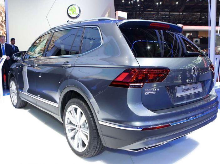 Volkswagen Tiguan Allspace: 4Motion, sette posti e DSG - Foto 2 di 13