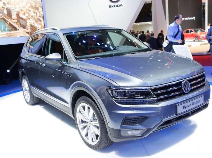 Volkswagen Tiguan Allspace: 4Motion, sette posti e DSG - Foto 7 di 13