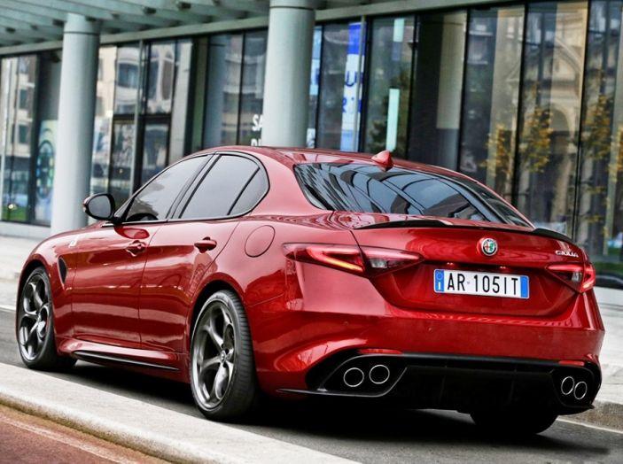 Alfa Romeo Giulia Tech Edition: Infotainment aggiornato e lusso da 32.500€ - Foto 8 di 12