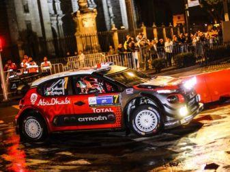 Le CITROËN C3 WRC infiammano Città del Messico