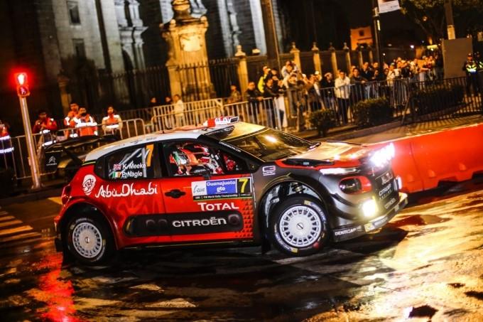 Le CITROËN C3 WRC infiammano Città del Messico - Foto 1 di 5