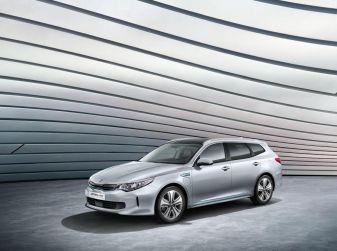Kia Optima Sportswagon Plug-In Hybrid, evoluzione silenziosa