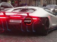 Lamborghini Centenario: l'esemplare n°1 incanta le strade di Parigi