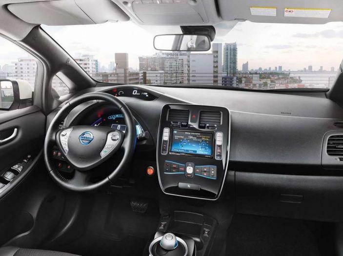 Papa Francesco si muove con Nissan LEAF, auto 100% elettrica - Foto 6 di 8