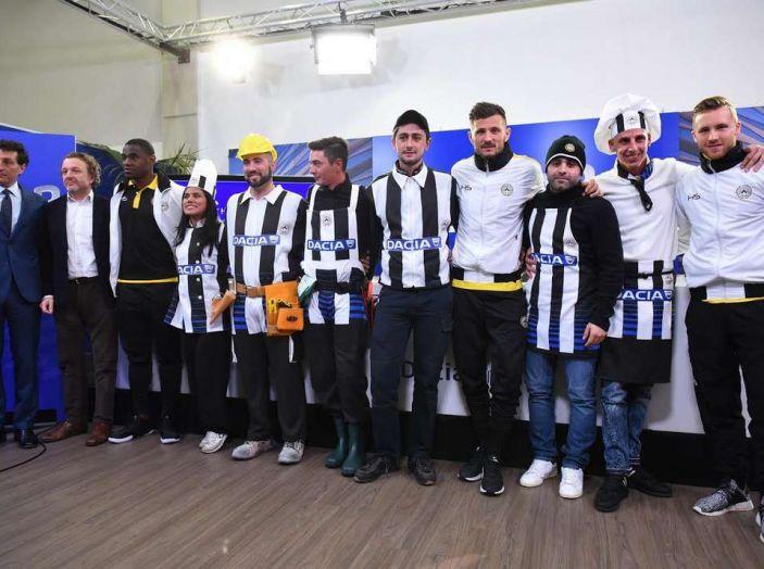 Udinese Calcio e Dacia the Swap: i giocatori friulani cambiano mestiere per un giorno - Foto 1 di 15