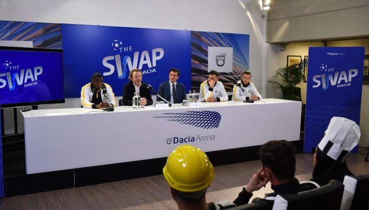 Udinese Calcio e Dacia the Swap: i giocatori friulani cambiano mestiere per un giorno - Foto 4 di 15