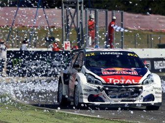 Peugeot 208 WRX tenta la conquista del Portogallo