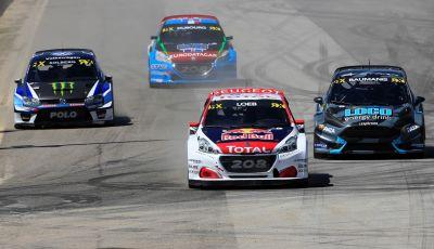 Sébastien Loeb e Peugeot 208 WRX sul podio in Portogallo