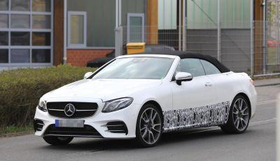 Mercedes AMG E43 2018, arrivano le versioni Cabrio e Coupé