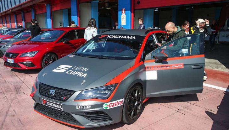 Seat Leon Cupra ST provata in pista a Franciacorta - Foto 35 di 57