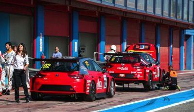 Seat Leon Cupra ST provata in pista a Franciacorta
