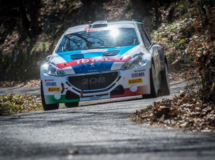 Rally di Sanremo – Peugeot archivia la Tappa 1 in testa - Foto 2 di 8