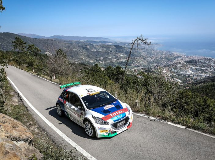Rally di Sanremo – Peugeot archivia la Tappa 1 in testa - Foto 3 di 8