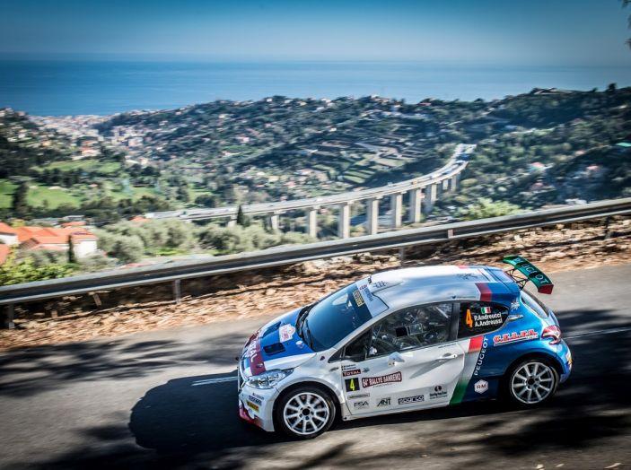 Rally di Sanremo – Peugeot archivia la Tappa 1 in testa - Foto 5 di 8