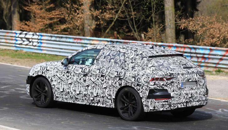 Audi Q8: i test drive del SUV proseguono al Nurburgring - Foto 7 di 8