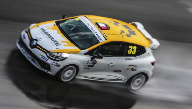 Renault Clio Cup 2018, dopo la vittoria 2017 Infomotori torna in pista alla Press League - Foto 1 di 32