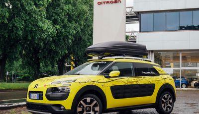 Citroën C4 Cactus alla prova dell'Avventura Gialla