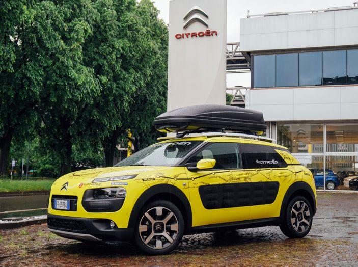 Citroën C4 Cactus alla prova dell'Avventura Gialla - Foto 1 di 5