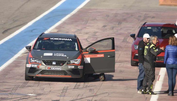 Seat Leon Cupra ST provata in pista a Franciacorta - Foto 54 di 57