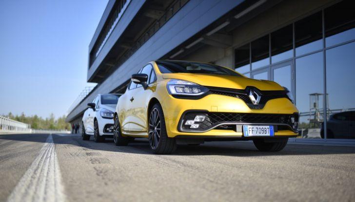 Test della gamma Renault Sport in pista a Modena - Foto 6 di 29